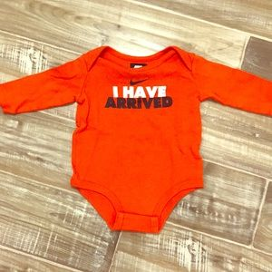 Nike Baby Long sleeve bodysuit